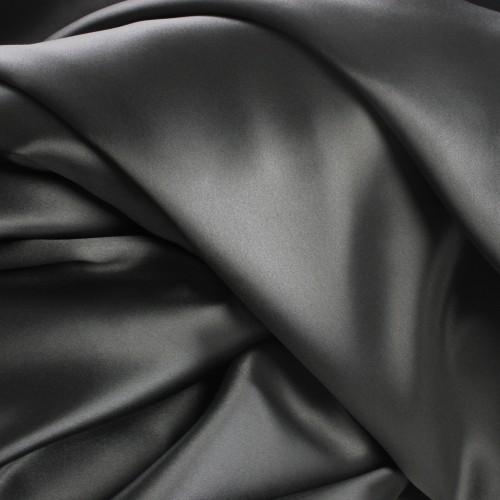 Seidenbettwäsche Set 160x210cm graphit