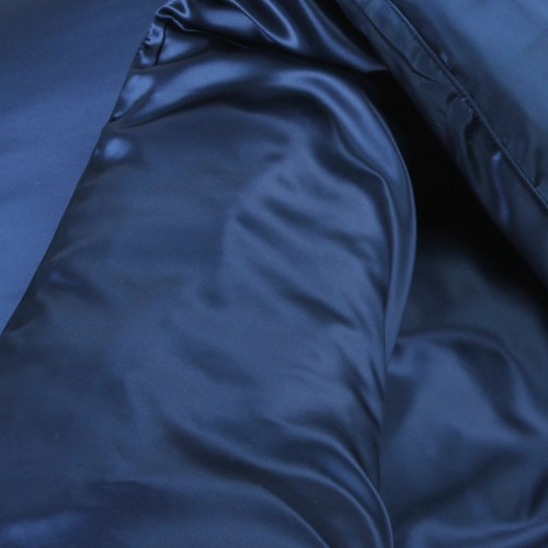 Seidenbettwäsche Set 160x210cm navy-blue