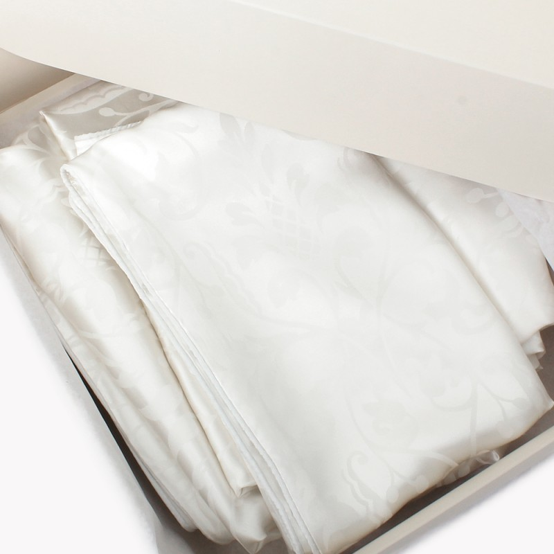 Einzelstück: Seidenbettwäsche Set royal  160x210cm