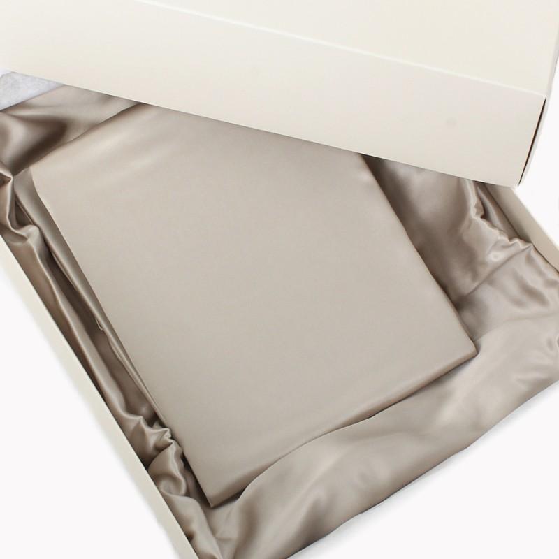 Einzelstück: Seidenbettwäsche Set mystique 200x210cm
