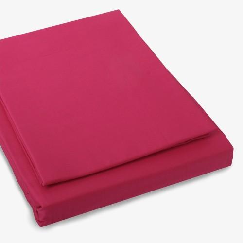 Satin Bettwäsche pink