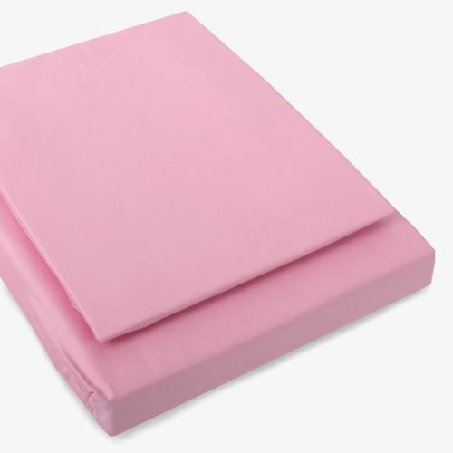 Satin Bettwäsche rosa