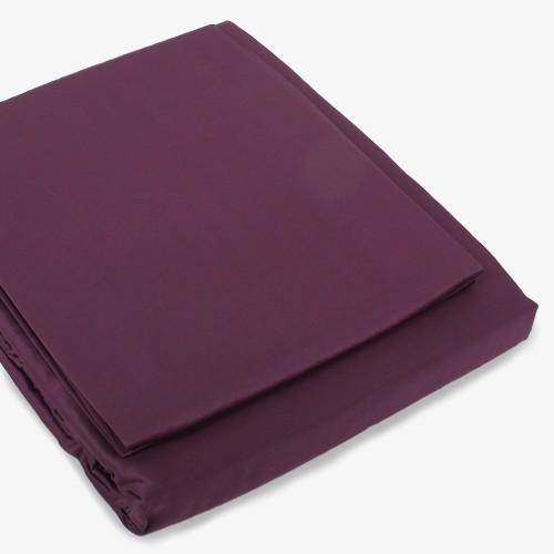 Satin Bettwäsche violett
